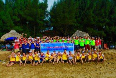 Các trò chơi Teambuilding tại Paracel Resort của Vietour